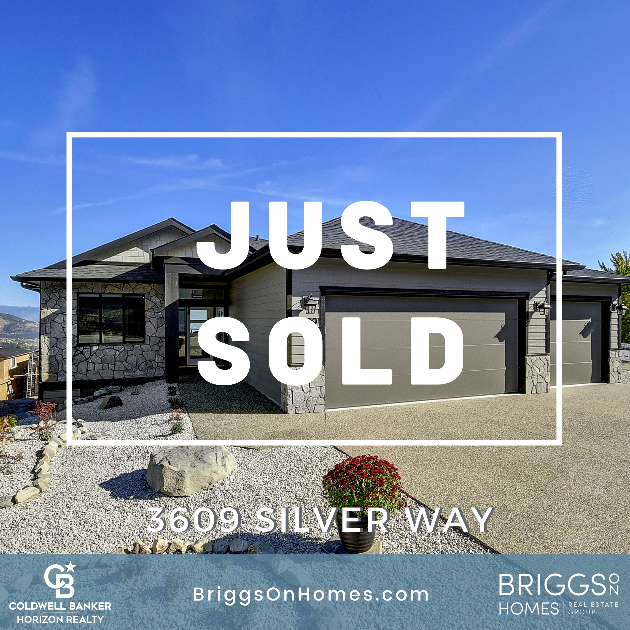 Just SOLD 3609 Silver Way