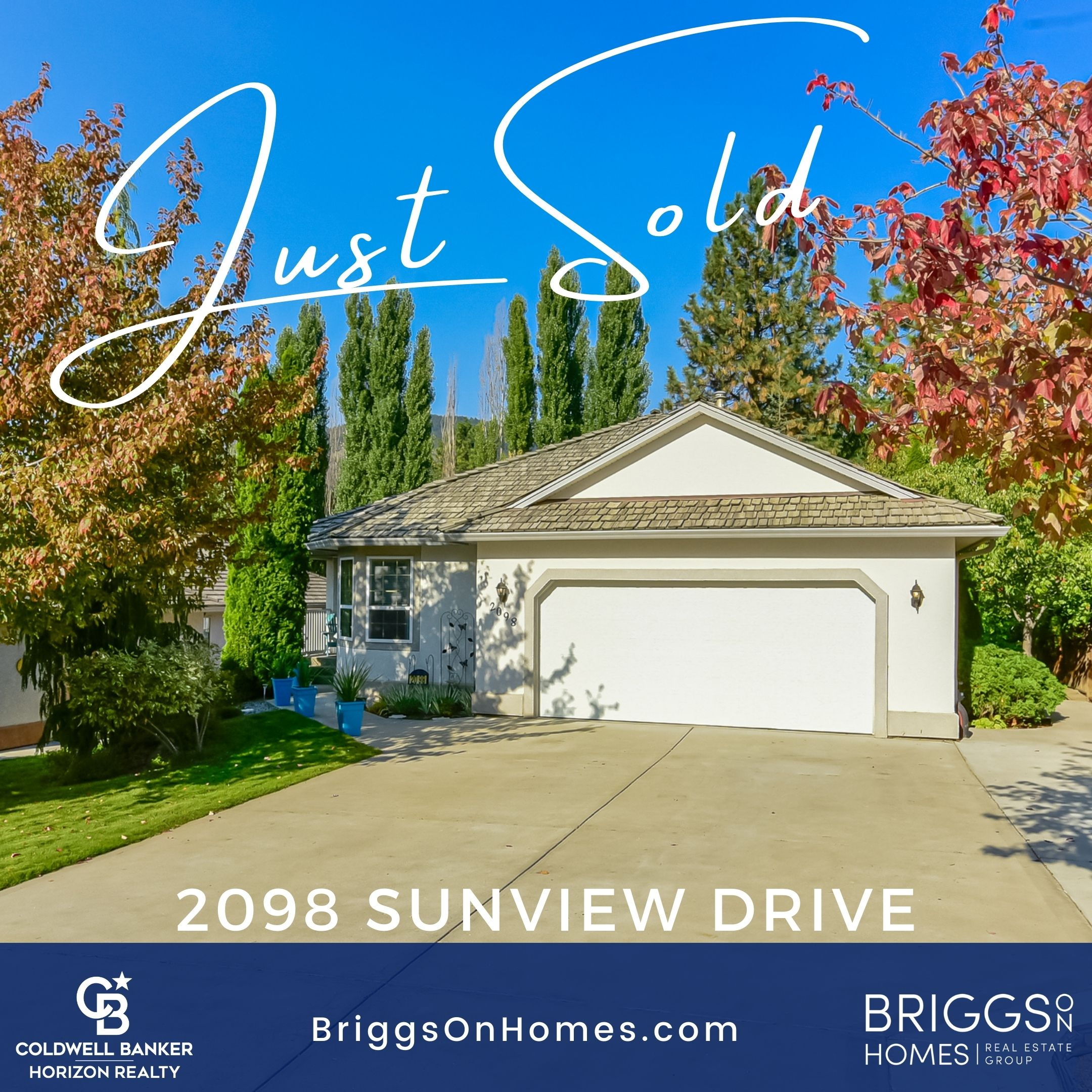 Just SOLD Sunview Drive