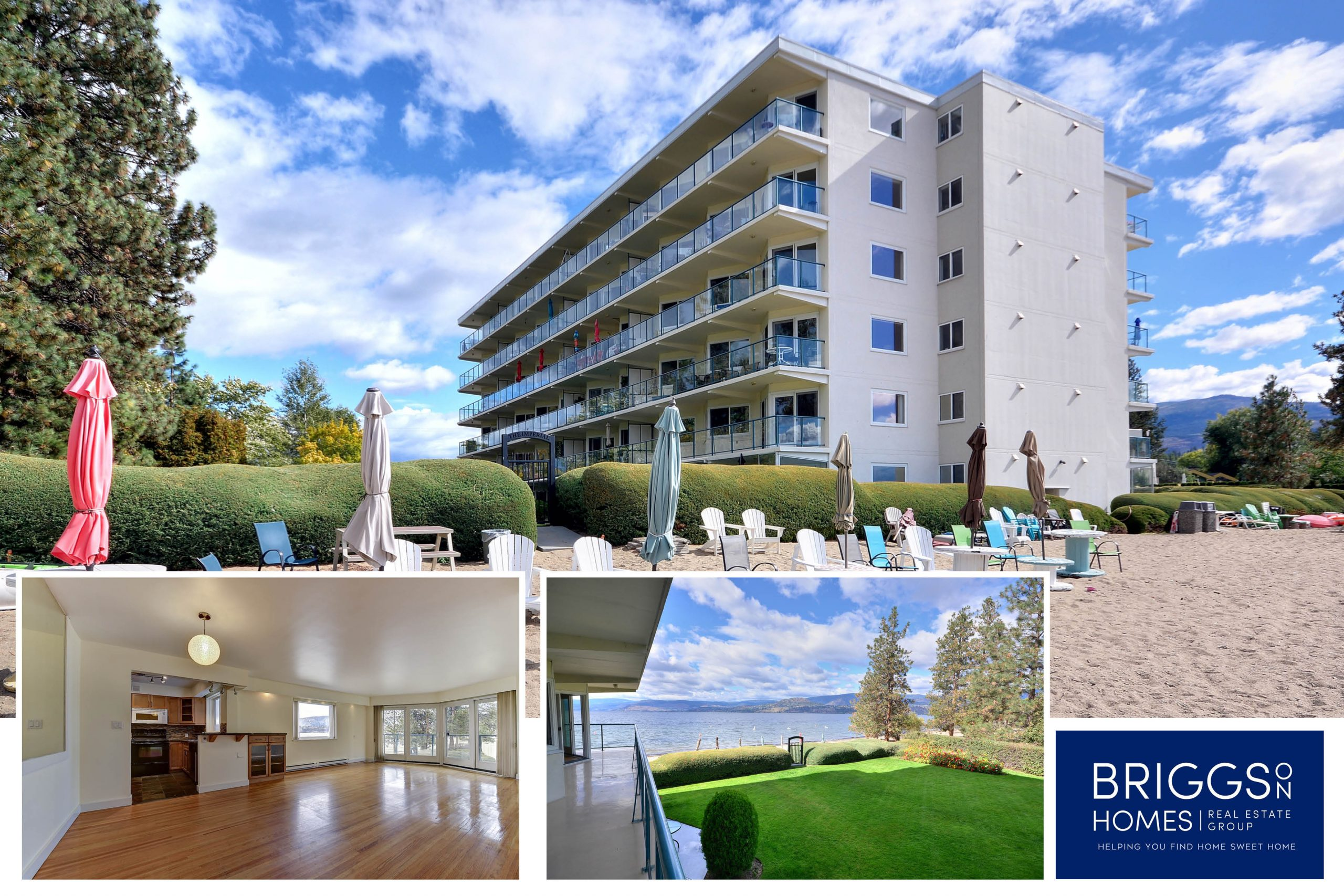 Just Listed! Prime Lakefront condo