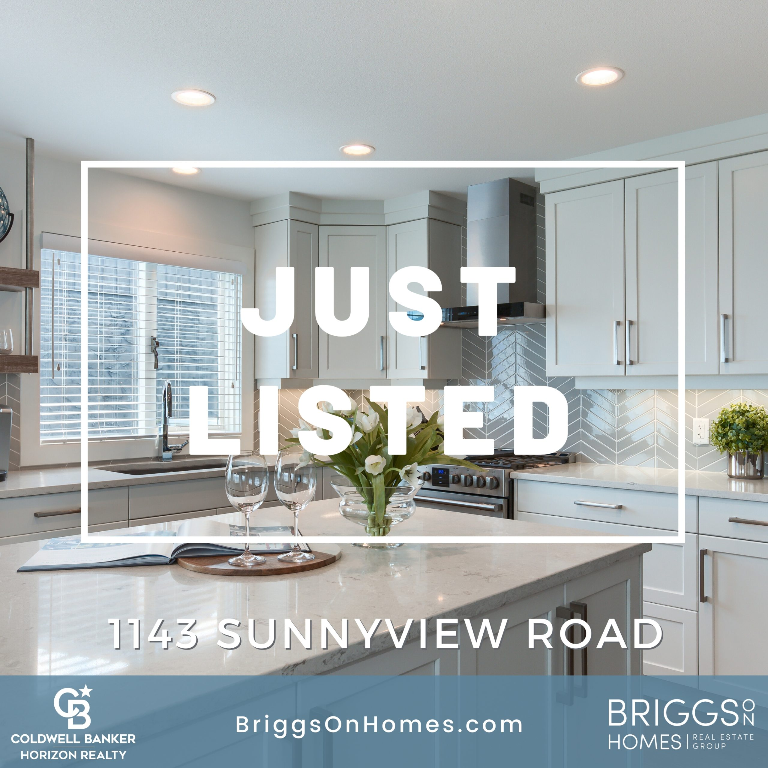 Just Listed Stunning renovated walkout rancher